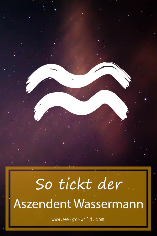Waage sternzeichen wassermann aszendent Sternzeichen Waage