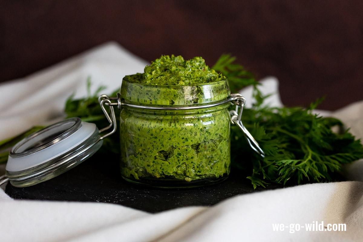 Möhrengrün Pesto